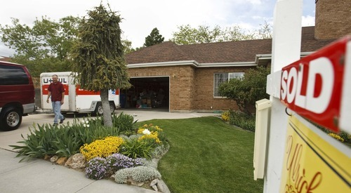 Leah Hogsten  |  The Salt Lake Tribune Randy Hulbert of Taylorsville said it took less than two weeks to put his home under contract at just under the asking price of $264,800.