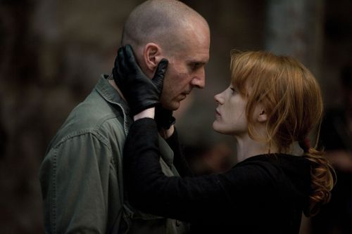 Ralph Fiennes and Jessica Chastain star in