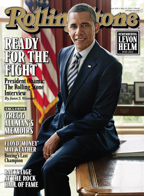 In this magazine cover image released by Rolling Stone, President Barack Obama is seen on the cover of Rolling Stone magazine that hits newsstands on Friday. (AP Photo/Rolling Stone)