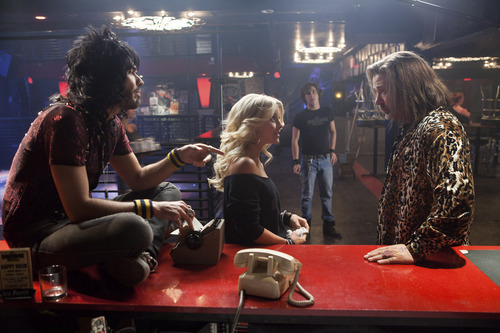 Russell Brand, Julianne Hough, Diego Boneta and Alec Baldwin star in the rock musical
