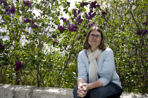 Kim Raff  |  The Salt Lake Tribune Victoria Billings, who works at Red Butte Garden, is the University of Utah's nontraditional student outreach director.