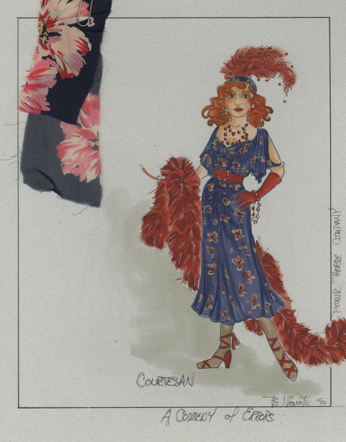 The Pioneer Theatre will be exhibiting 50 years worth of set and costume designs. Courtesy of Pioneer Memorial Theatre