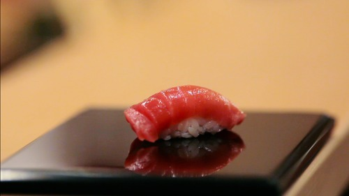 Courtesy of Magnolia Pictures A piece of sushi made by Jiro Ono, the subject of the documentary