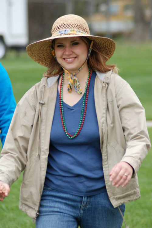 The photo is of Susan Powell at the Cinco de Mayo Festival in 2009. Photo credit: Jeff Jewkes