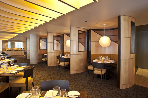 You'll need reservations to treat Mom (and Grandma) on Mother's Day, the busiest dining day of the year.  Aerie restaurant at Snowbird is among the Utah restaurants that will be open on Mother's Day. Courtesy Snowbird Ski Resort
