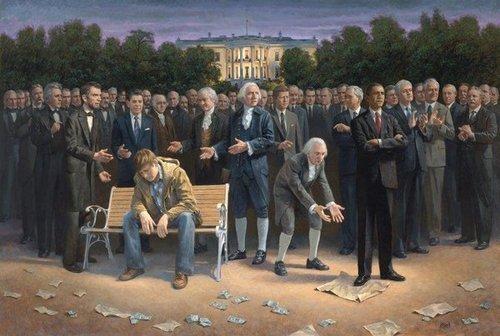 Provo artist Jon McNaughton's painting