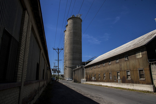 Chris Detrick  |  The Salt Lake Tribune Mountain Cement Company in the Granary District, photographed on Wednesday, May 9, 2012.