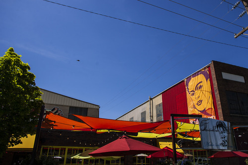 Chris Detrick  |  The Salt Lake Tribune Frida Bistro in the Granary District, photographed on Wednesday, May 9, 2012.