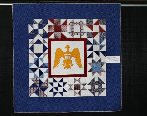 Scott Sommerdorf  |  The Salt Lake Tribune              A quilt entitled