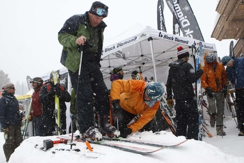 Trent Nelson  |  The Salt Lake Tribune file photo Outdoor Retailer Winter Market opens Wednesday with a demo day, this time at Solitude Mountain Resort.