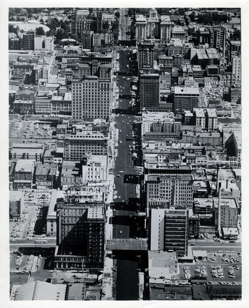 Tribune file photo  A view of downtown Salt Lake City is seen in this undated photo.