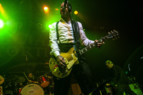 Chris Detrick  |  The Salt Lake Tribune Social Distortion performs at The Depot Friday May 11, 2012.