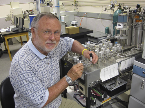 U. biologist Jim Ehleringer and colleagues at Harvard developed a method to estimate carbon dioxide emissions, which could help verify compliance with a climage change treaty if the nations of the world ever agree to limit greenhouse gas emissions. Courtesy Lee J. Siegel  |  University of Utah
