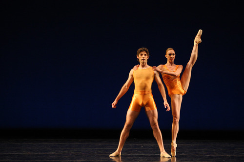 Ballet West's Michael Bearden and Jacqueline Straughan in