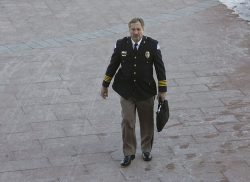 Scott Sommerdorf     Tribune file photo Former Senator and Ogden Police Chief Jon Greiner was exhibit A during a congressional hearing Wednesday on the Hatch Act. Republicans and Democrats in the hearing agreed the law is obsolete and should be junked.