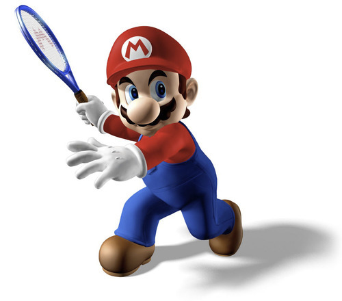 Mario returns to center court in the new