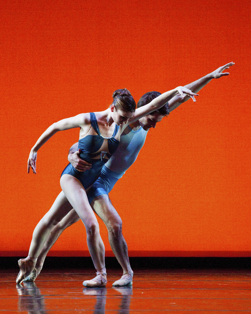 Ballet West's Emily Adams and Beau Pearson in Susan Shields'
