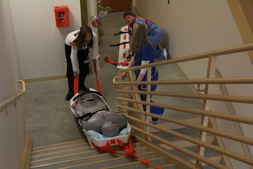 Courtesy Jason Carlton Even as Utahns have recently participated in earthquake disaster drills, many people haven't given much thought to earthquake insurance for their homes.