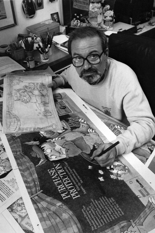 In this October 1988 file photo, author Maurice Sendak, creator of the best-selling children's book