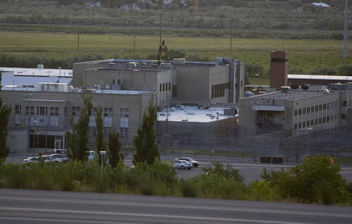 Jim Urquhart  |  The Salt Lake Tribune The Utah State Prison Thursday, June 17, 2010 in Draper. Ronnie Lee Gardner is scheduled to be executed by firing squad later in the evening. 6/17/10