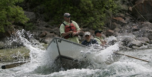 Report green river is no 2 most endangered river in u s for Fly fishing green river utah