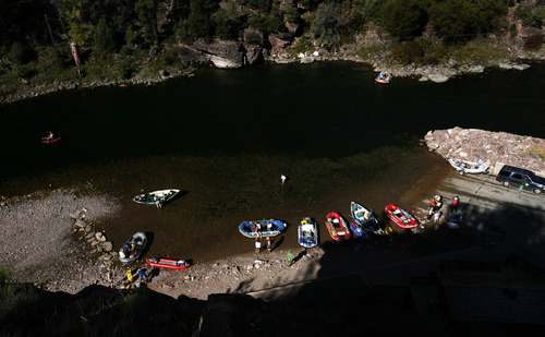 The Green River, which meanders about 730 miles from its headwaters in the Wind River Range in Wyoming through Utah, Colorado and back into Utah, is No. 2 on the list of America's Most Endangered Rivers of 2012, according to a new report by American Rivers. The report cites proposed pipelines and a nuclear power plant that would remove huge portions of water as major threats to the river.