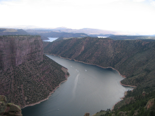 The Green River, which meanders about 730 miles from its headwaters in the Wind River Range in Wyoming through Utah, Colorado and back into Utah, is No. 2 on the list of America's Most Endangered Rivers of 2012, according to a new report by American Rivers. The report cites proposed pipelines and a nuclear power plant that would remove huge portions of water as major threats to the river. Courtesy of Jeff Nordan