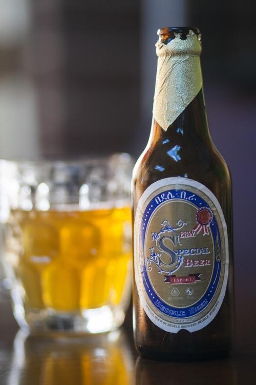 Chris Detrick     The Salt Lake Tribune Ethiopian beer Bedele is on the menu at Mahider Ethiopian Restaurant in Salt Lake City.