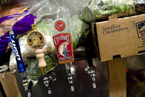Tribune file photo  There is a growing recognition that the lack of liquor licenses available to restaurants is hindering business growth in Utah and something needs to be done, Gov. Gary Herbert said Thursday.