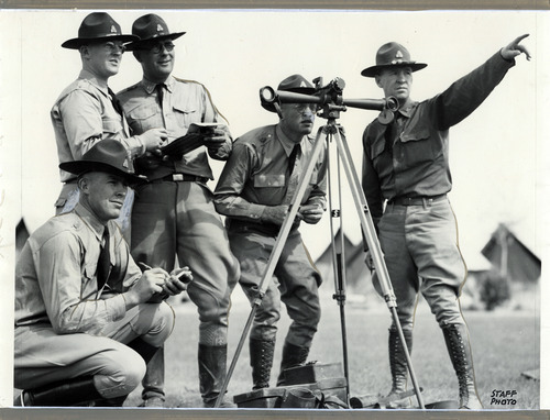 Tribune file photo  Members of the Utah National Guard are seen in this photo from the mid-1930s.