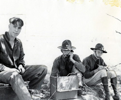 Tribune file photo  Members of the Utah National Guard are seen in this photo from 1936.