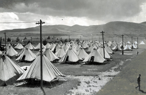 Tribune file photo  Camp Williams is seen in this photo from 1935.