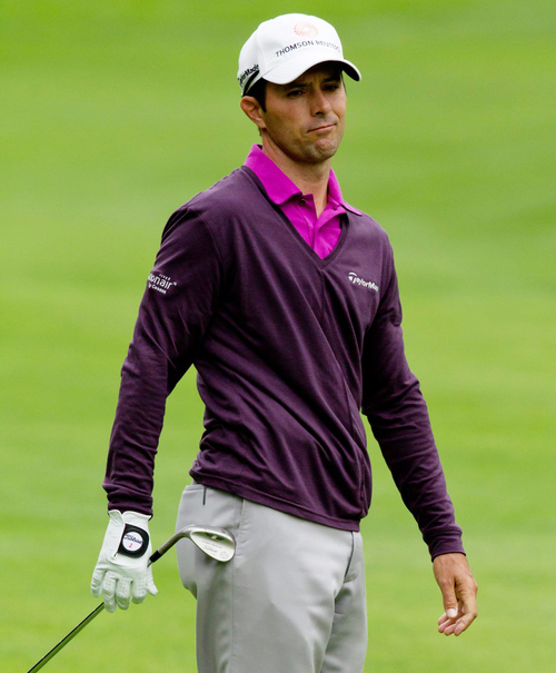 Sandy resident Mike Weir has struggled badly on the PGA Tour since suffering an elbow injury. The former BYU golfer has hired a new coach to help him get his game straightened out. (AP Photo/The Canadian Press, Darryl Dyck)
