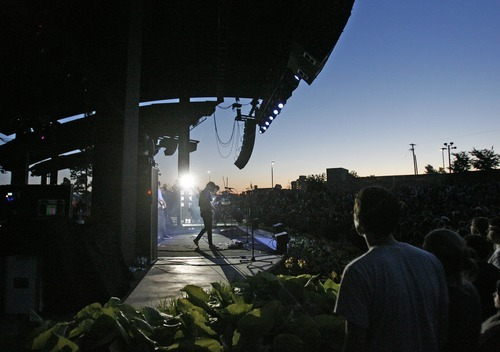 Rick Egan  | The Salt Lake Tribune   The Shins play Red Butte Garden, Monday, May 28, 2012.