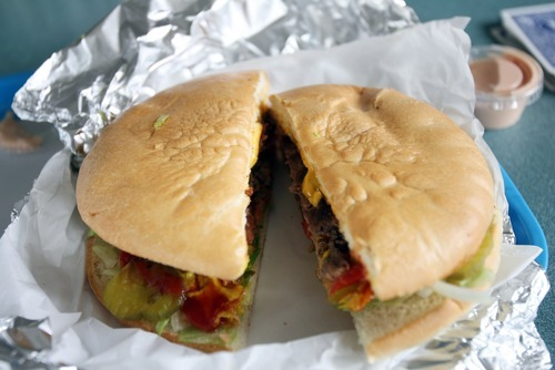 Kim Raff | The Salt Lake Tribune The Big One half-pound burger with cheese at the Dairy Delight in  Tooele.