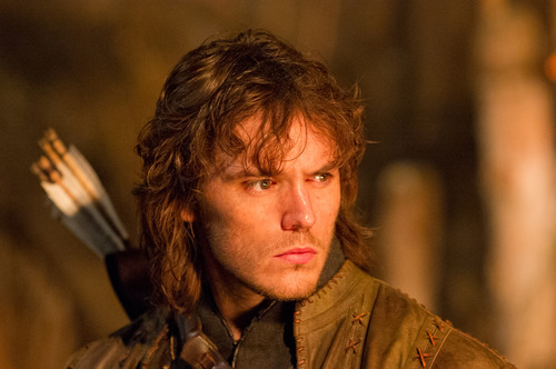 This film image released by Universal Pictures shows Sam Claflin in a scene from