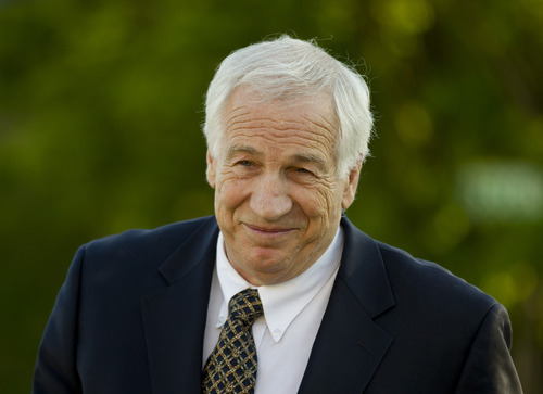 FILE - This April 5, 2012 file photo shows Jerry Sandusky arriving at the Centre County Courthouse in Bellefonte, Pa. A simple question could be the key to the case against Jerry Sandusky: Will the young men who contend the former Penn State assistant football coach sexually abused them be viewed as credible witnesses?  (AP Photo/Matt Rourke, File)