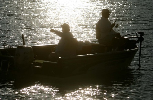 Leah Hogsten  |  Tribune file photo This year's Free Fishing Day in Utah is Saturday.