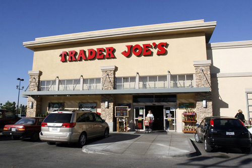 A Trader Joe's store in Riverside, CA, November 30, 2006. Trader Joe's is a chain of grocery stores that will be affected by Tesco's move into the United States. Cheshunt, England-based Tesco Plc plans to create a U.S. convenience store brand, taking on chains such as 7-Eleven Inc. and locally run grocers for the money spent by Southern California's time-pressed shoppers. Photographer: Francis Specker/Bloomberg News