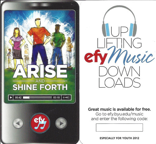 Efy 2012 Arise And Shine Forth Download - whyboth's diary
