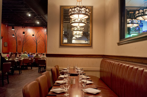 Trent Nelson  |  The Salt Lake Tribune Stockmens Steakhouse of West Valley City in West Valley City is a reasonably priced, locally-owned restaurant that brings a relaxed steakhouse vibe to the 'burbs.