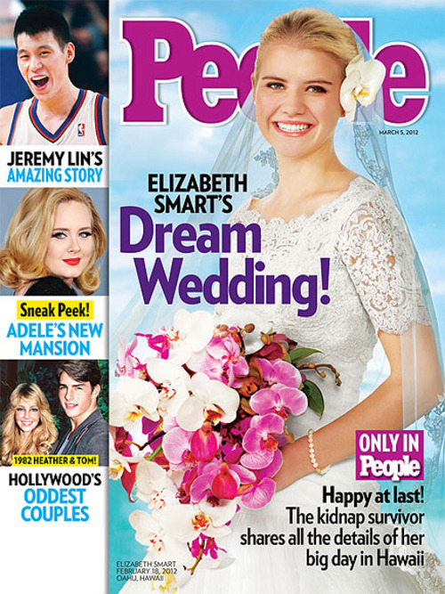 Courtesy photo Elizabeth Smart on the cover of People magazine.