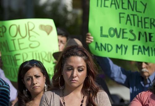 Lennie Mahler     Tribune file photo Sisters Silvia, left, and Barbara Avelar went public Monday with the family's plight. Brought to the United States as children, the three say their family was victimized by an unscrupulous lawyer who told their parents their legal status paperwork was taken care of.