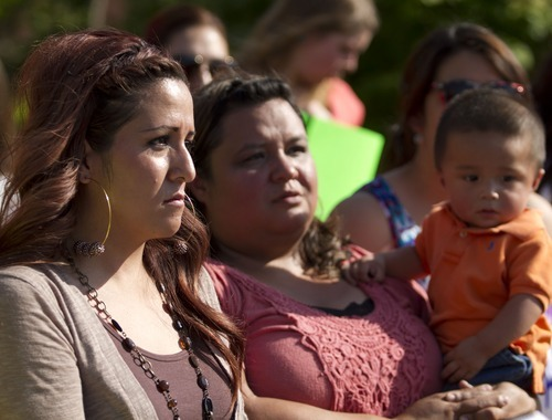 Lennie Mahler  |  Tribune file photo Sisters Barbara and Laura Avelar received word there scheduled June 15 deportation to Mexico has been put off. The case was re-evaluated and they have another year to live legally in the U.S. The case will be reviewed at that time.