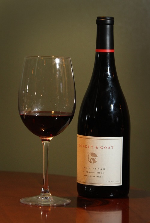 Rick Egan   |  The Salt Lake Tribune  A bottle of 2007 Perli Vineyard Syrah.