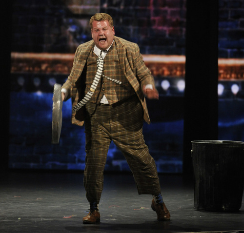 James Corden performs in a scene from