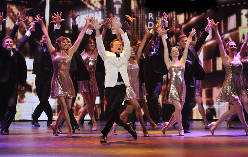 Host Neil Patrick Harris performs at the 66th Annual Tony Awards on Sunday June 10, 2012, in New York. (Photo by Charles Sykes /Invision/AP)