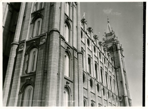 Tribune file photo  A view of the Salt lake temple from 1937.
