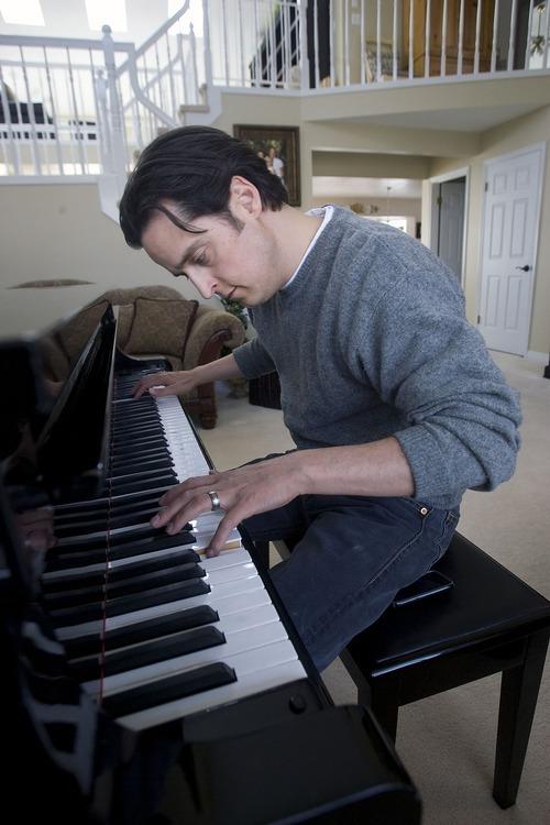 Al Hartmann     The Salt Lake Tribune Paul Cardall, a Utah pianist whose 2011 album