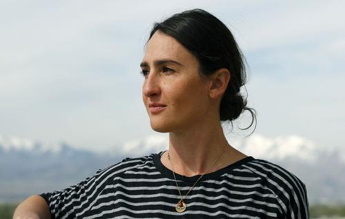 Al Hartmann     The Salt Lake Tribune Lindsay Jaeger, documentary filmmaker of